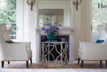 MATTHEW 2_COMMON AREA 1 /  ENTRY, LIVING ROOM, DINING ROOM, / by Kelly Deck Design