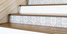 Stairs / Maybe not a stairway to heaven but stairs can definitely do more than get you from Point A to Point B or be a landing spot for all household items before putting them away. Stairways can offer limitless design options to enhance the beauty and functionality of your home.