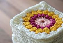 Crocheting etc