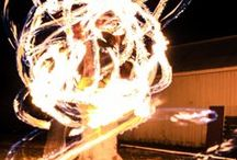 Fire&Flow Art / Various pictures of me and others spinning poi, hula hooping, fire fans. Some pictures I uploaded and took myself, others are repinned.  / by Jacquelyn Maines