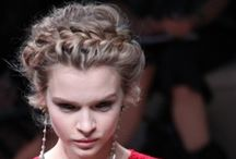 Updo and Down-do Styles