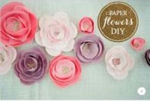 *{Crafty} Flowers / by Cami @ The Crafting Nook