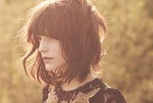 longer short to medium hair inspiration