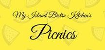 Picnics - My Island Bistro Kitchen / This board contains photos of the many picnics on location at several different sites on beautiful Prince Edward Island on Canada's east coast.