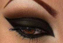 make-up. / algunos de los maquillajes que más me gustan.
