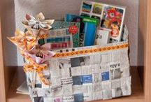 *{Crafty} Upcycling, Reupholstering and Repurposing / by Cami @ The Crafting Nook