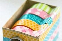 *{Crafty} Washi Tape Love / by Cami @ The Crafting Nook