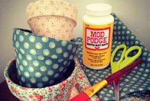 *{Crafty} Mod Podge Rocks / by Cami @ The Crafting Nook
