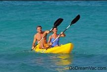 Kayak Hotels / Do you love to kayak? Most all inclusive resorts include ocean kayaking in the all inclusive hotel package of non-motorized watersports. Enjoy this collection of all inclusive kayak hotels. Give us a call for help in choosing the best kayak trips at the best beaches.  GoDreamVacations.com  1-800-828-0639