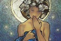 Mosaik i glas