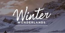 Winter Wonderlands / These snowy slopes offer every kind of winter getaway!