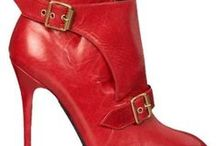 SHOES  -  RED