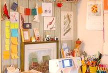 ORGANIZING - SEWING ROOM