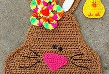 BOS: Easter Crochet / Fun Easter crochet patterns and other great projects from the Battle of the Stitches Alumni, Sponsors, Judges and Admin