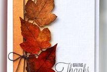 CARDS - Leaves, Autum