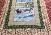 Christmas Quilts by Courtney Simmons / Quilt longarm with my gammill