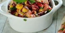 Salad Recipes / salad, appetizer, chicken salad, vegetable salad, healthy recipe