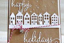 CARDS - Christmas NATUR základ