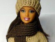 Barbie / Pletení, háčkování