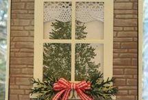 CARDS - Christmas WINDOWS