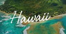 Hawaii / The fresh, floral air energizes you. The warm, tranquil waters refresh you. The breathtaking, natural beauty renews you. Look around. There's no place on earth like Hawaii.