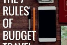 Budget Travel / Tips and tricks on how to travel on a budget. See the world, don't break the bank.