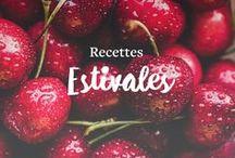 Recettes Estivales / Égayez votre été avec ces délicieuses recettes remplies de saveurs et de couleurs! Notre nouvelle sélection d'idées simples, fraîches et originales régalera toute votre famille.