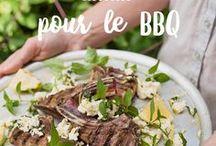 Recettes pour le BBQ / L'été rime avec repas entre amis, vacances, piscine et surtout, BBQ! Partez le grill lors de grandes (ou petites!) occasions et libérez le pro du BBQ qui est en vous en essayant nos recettes faciles et originales!