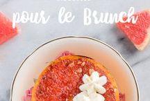 Recettes pour le Brunch / Le dimanche est réservé au temps passé en famille. Vous serez la vedette du déjeuner avec nos idées recettes originales, simples et goûteuses dignes des plus grands brunchs!