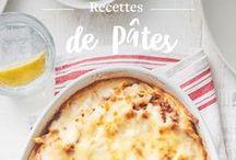 Recettes de Pâtes / Les soirs de semaine, un bon plat de pâtes maison est toujours gagnant! Des recettes classiques italiennes que nous nous réinventons chaque saison.