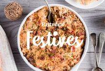 Entrées festives / Quand vient le temps de célébrer, vous pouvez compter sur nous. Découvrez une foule d'idées de recettes originales et savoureuses pour satisfaire tous vos invités!
