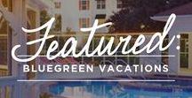 Bluegreen Vacations / Bluegreen Vacations  manages over 60 resorts in more than 40 popular destinations across the continental U.S. and the Caribbean. Since 1966 Bluegreen has been dedicated to their main objective: Share Happiness. Find happiness on your next vacation at a Bluegreen Vacations Resort.