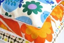 Fabrics and patterns / All this I want to bring to my own home.