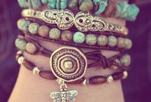 Bracelets and nacklaces