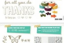 Stampin' Up! Specials / See what is on special with Stampin' Up! / by Linda Bauwin - CARD-iologist