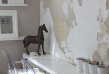 ♡ Map on the wall  / Kaart | Map | Muur | Wall | Decoration | Decoratie | Place to be | Plaats | Landen | Country`s
