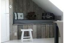 ♡ Wood  / Wood | Hout | DIY | Pallet | Steigerhout | Pallet wall | Houten muur