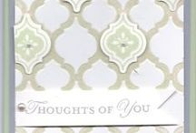 Mosasic Madness Bundle / Save 15% on Stampin' Up! Mosaic Madness Bundle Stamp Set and Punch  Wood #132734  $36.50 Clear #132733  $29.50 Check out matching embossing folder / by Linda Bauwin - CARD-iologist