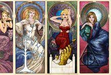 Art Nouveau Remixed / by Mercedes Mayden