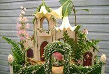 "Fairies - faery, faerie, fay, fae, fairy house home, garden, furniture, accessories / ""Make Believe"" * Create your own Fairy Realm *  fée (French); fee (German); fata (Italian); hada (Spanish) / by Naomi A-B"