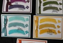 New In Colors 2014-2016 Stampin' Up! / 5 New In Colors Ink Pads featured each year from Stampin' Up!  Deal Get the 5 Ink Pads and 20 Sheets of Cardstock for Only #133673- 2014-2016 In Color Pack $29.95 #131204-2013-2015 In Color Pack $29.95 / by Linda Bauwin - CARD-iologist