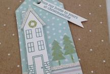 SU! Holiday Home Bundle / Exclusive Stampin' Up! Bundle #137631 Only $31.95 Includes Photopolymer Stamp Set with 24 Stamps and a three piece Framelit die set