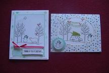 SU! White Christmas Stamp Set / White Christmas Stamp Set Photopolymer  #135767 Only $15.95 for a 13 piece stamp set.