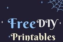 Free Printable Signs and Party Decorations / Free printable signs, calendars, worksheets, and party decorations for baby monthly milestone pictures, baby showers, birthday parties, and other celebrations from philandmama.com