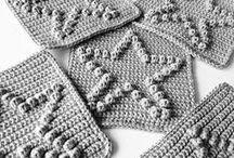 szydełko - wzory, serwetki