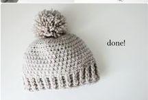 szydełko - czapki