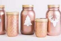 Mason jar love / Jars are so handy - for storage, drinks, candle holders and so much more. Be inspired by our collection of beautifully decorated mason jars and create your own.