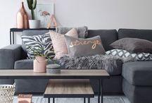 Scandi style home decor
