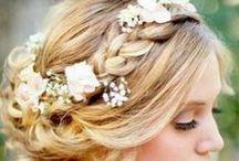 hochzeiten l haare & make-up / Meine liebsten Haar- und Make-up Trends für Euch.