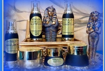 My Skincare Line - Patricia Be - The Egyptian Beauty Skin Care System / The philosophy behind the Patricia Be Skin Care system is to create products that are hand made using ancient methods of processing and free of Parabens, Petro chemicals and sulphates.  We use many natural plant based ingredients inspired by the Egyptians, who believed being clean and beautiful brought them closer to the Gods.  Some of our ingredients have roots in ancient Egypt and have anti-aging, anti-inflammatory properties that combine the essentials of Aromatherapy and Herbology.   / by Patricia's Big Closet